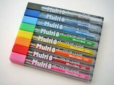 Pentel multi 8 colors pencil refill leads  8 assorted set