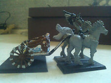 WARHAMMER FANTASY-HIGH ELVES-HIGH ELF TIRANOC CHARIOT-METAL-PART PAINTED-GW