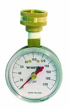 Watts DP IWTG Water Pressure Test Gauge for Garden Hose by Watts Regulator NEW