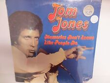 "Tom Jones ""Memories Don't Leave Like People Do"" Factory Sealed 12"" LP Record"