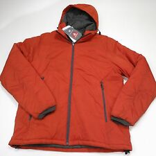 $150 Men's LL Bean Primaloft Cloudlight Jacket Size XL  Tall Orange NWT