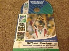 IRB RUGBY WORLD CUP 2003 Promotional Highlights Of The Official Review DVD