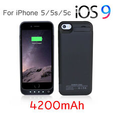 4200mAh Portable External Power Bank Battery Charger phone Case iPhone 5 5S 5C