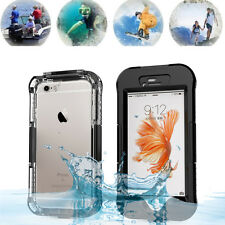 Waterproof ShockProof Lifeproof Case For Apple Iphone  5 5S 5G SE 6 6S / 6S Plus
