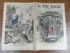LE PETIT JOURNAL 1896 SOLDAT RAPATRIE MADAGASCAR ALLEGORIE SAINTE GENEVIEVE