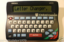 Seiko ER3700 Electronic Oxford Crossword Solver Dictionary Spellcheker