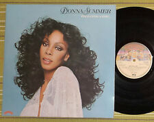 DONNA SUMMER, ONCE UPON A TIME /GIORGIO MORODER/ LP 1977 UK 1ST PRESS EX/EX/EX-