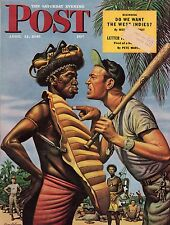 1945 Saturday Evening Post April 21-Do we want West Indies? St. Louis Cardinals