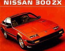 1984 NISSAN 300ZX BROCHURE -NISSAN 300ZX-NISSAN 300ZX 2+2-NISSAN 300ZX TURBO