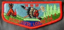 MERGED MINNIDUTA OA LODGE 176 RED RIVER VALLEY 52 183 371 PATCH  SERVICE FLAP