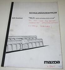 Schulungsunterlage Mazda 626 Typ GF / 121 Typ ZQ Stand November 1997!