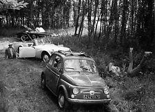 Photo originale Adorable menteuse Michel Deville automobile Fiat 500
