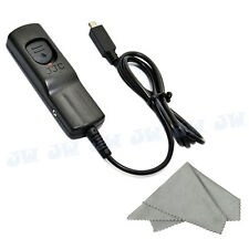 JJC Pro 0.9m Remote Switch shutter Release for Fujifilm Fuji FINEPIX HS50EXR