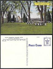 Old Colorado Linen Postcard - Pueblo - Mineral Palace Park
