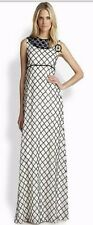 BN Beautiful Designer TORY BURCH Ladies Elegant Beaded Evening Gown Size 8