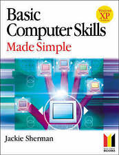Basic Computer Skills Made Simple XP Version (Made Simple Computer Series),GOOD