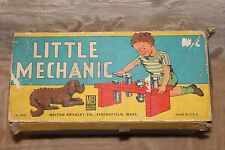 "Vintage Milton Bradley "" The Little Mechanic"" Wood Bench Toy"