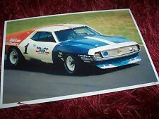 Photo / Photograph  George Follmer AMC Javelin 1972 Trans-Am winner //