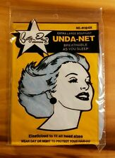 "1960's Vtg NOS Betty Dain ""UNDA-NET"" Pink BOUFFANT Hair NET Made In USA In PKG"
