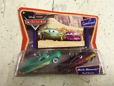Disney Pixar Cars Flo & Ramone SUPERCHARGED **GENUINE*SEALED** P130-A17