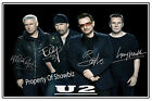 U2 - BONO, THE EDGE, ADAM CLAYTON & LARRY MULLEN JR. AUTOGRAPHED PHOTO
