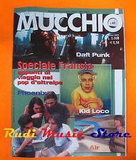 Rivista MUCCHIO SELVAGGIO 469/2002 Daft Punk Phoenix Kid Loco Air Elisa No cd