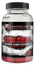 X-CEL Sports Nutrition Ironclad Natural Strength.  All Natural Muscle Builder!