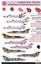 Linden Hill Decals 1/48 MIKOYAN MiG-21MF in Warsaw Pact Service Part 3