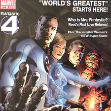 FANTASTIC FOUR 554 — Apr 2008 — MARVEL Direct Edition version with POSTER