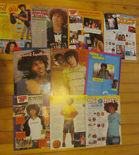 Corbin Bleu, Lot of TEN Full Page Pinup Clippings
