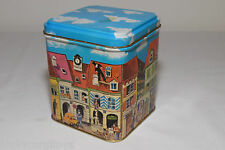 TIN BOX CAN BLECH VW VOLKSWAGEN BEETLE KAFER STREAT VIEW EXCELLENT CONDITION