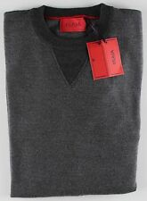 NWT ISAIA wool cashmere SWEATER sale e pepe grey 2 ply crewneck luxury M