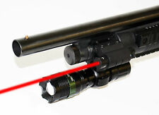 Rail Mount + 300 Lumen Led Flashlight + Red Laser Fits Remington 870 1100
