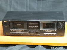 New listing Jvc Td - W201 Dual Cassette Component Stereo Player Recorder Tested Working