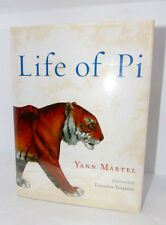 LIFE OF PI  BY YANN MARTEL 2007, HARDCOVER, DELUXE, ILLUSTRATED SIGNED FIRST ED