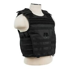 NcStar VISM BLACK Tactical MOLLE Operator Plate Carrier Body Armor Chest Rig XXL