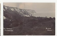 Folkestone, The Warren, Glover Real Photo Postcard, A702