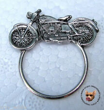 CRUISER BIKER PIN WITH SUNGLASS HOLDER ** MADE IN USA **