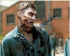 MICHAEL KOSKE hand-signed THE WALKING DEAD color 8x10 uacc rd coa ZOMBIE CLOSEUP