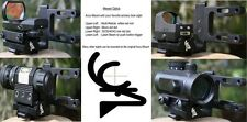 Archery Bow Scope Mount for Hunting fits  Red Dot Laser Sight and All Compounds