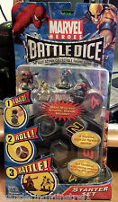 Marvel HEROES  *Battle Dice*/ Action Collectible Figure Game/ 6 Figures/Dice bk