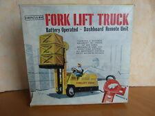 HERCULES H 30 GABELSTAPLER - VINTAGE TOY - OVP - fork lift truck 1.16
