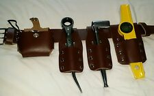 Scaffold Tools Belt Set with tools comes with hammer frogs.