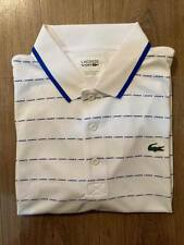 lacoste ULTRA DRY STRIPE PIQUE POLO DH7417 Brand New