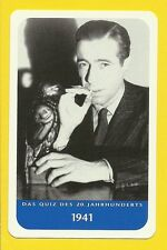 The Maltese Falcon Humphrey Bogart Cool Movie Film Collector Card from Europe