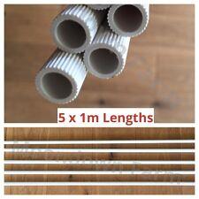 5 X 1m longitudes de plástico Perca 12mm en pinzones, canarios, periquito, Parrot