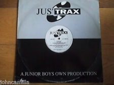 """D-DAY - D-DAY 12"""" RECORD / VINYL - JUS' TRAX - JST 02"""