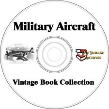 Military Aircraft Vintage Book Collection on CD - Word War II Aircraft