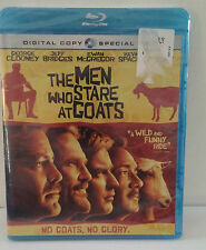SEALED~BLU-RAY~The Men Who Stare at Goats~