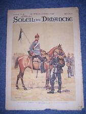 LE SOLEIL DU DIMANCHE N° 52 DU 29/12/1901 VEILLE DE FETE LA DINDE DU REVEILLON